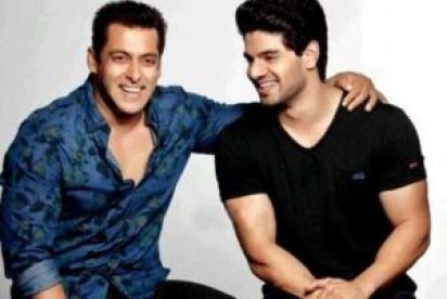 Sooraj Pancholi with Salman Khan