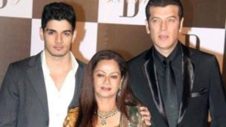 Sooraj Pancholi with his parents