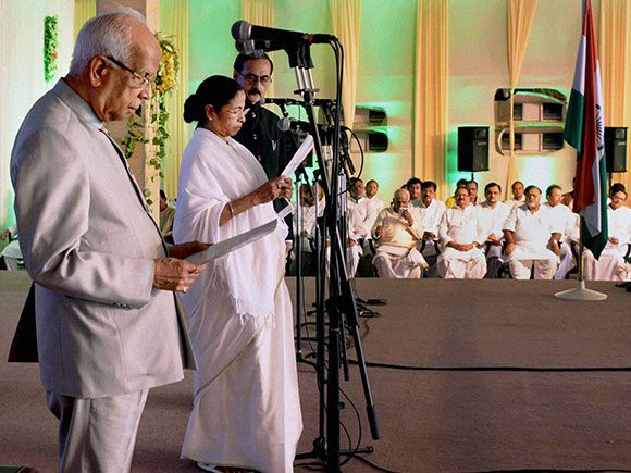 Mamata Banerjee was sworn in as the Chief Minister of West Bengal