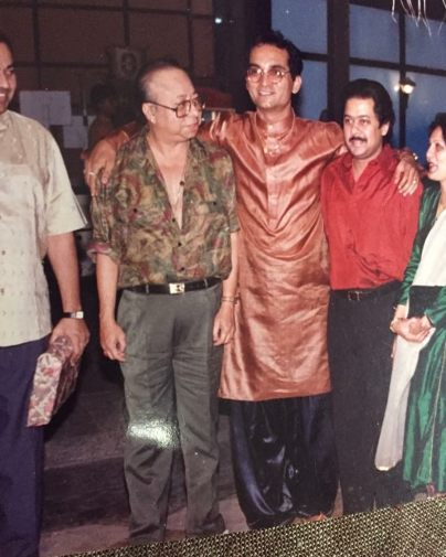 Abhijeet With R. D. Burman