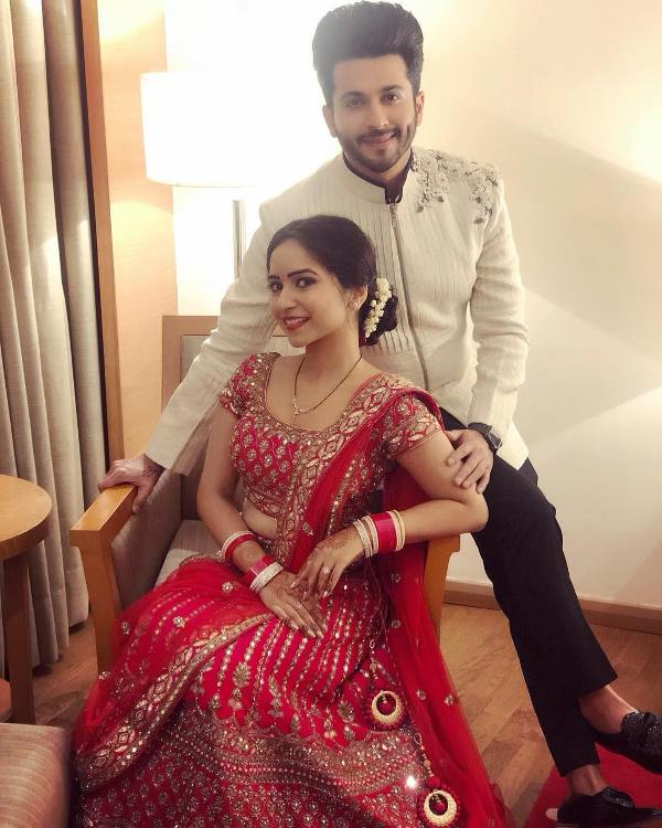 Dheeraj Dhooper with his wife