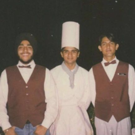 Gippy Grewal as a Hotel Management student