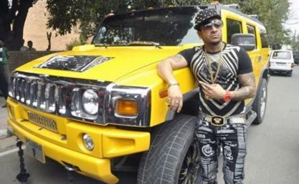 Jazzy B with his Hummer