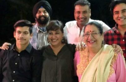 Karan Oberoi's His Family