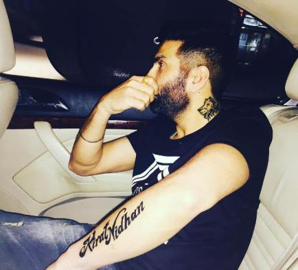 Preet Harpal tattoos