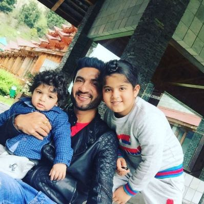 Preet Harpal with his sons