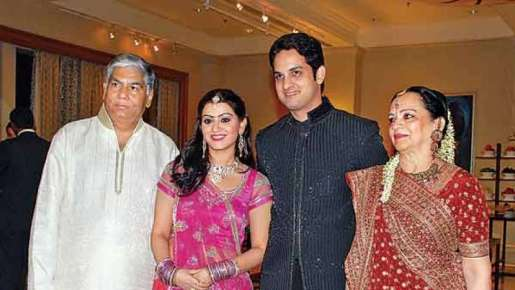 Priyanka Chibber with her family