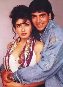 Raveena Tandon And Akhay Kumar
