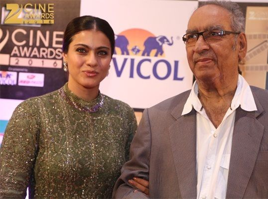 Veeru Devgan with Kajol