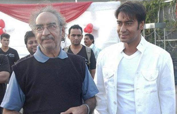 Veeru Devgan with his son Ajay Devgan