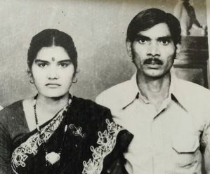 Sangeita Chauhan's parents