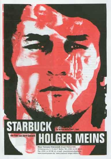 Filmplakat zu Starbuck Holger Meins, 2001