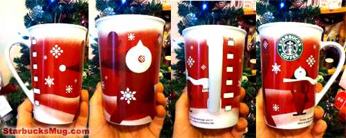 Starbucks Coffee 2010 Christmas Mug