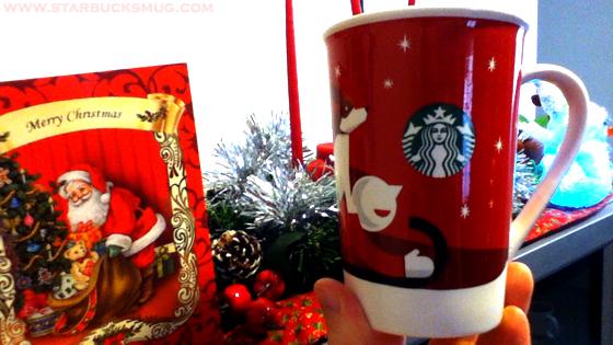 Starbucks Coffee 2011 Christmas Mug