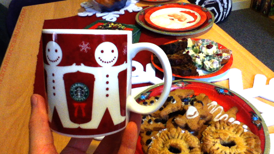 Starbucks Christmas Gingerbread Mug