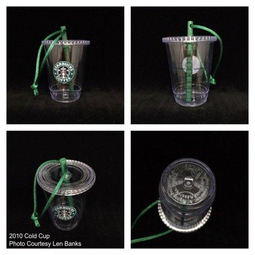 Starbucks Ornament Cold Cup