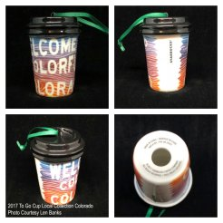 2017 To Go Cup Local Collection Colorado Starbucks Ornament