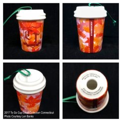 2017 To Go Cup Local Collection Connecticut Starbucks Ornament