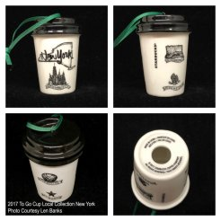2017 To Go Cup Local Collection New York Starbucks Ornament