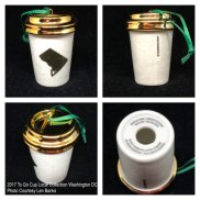 2017 To Go Cup Local Collection Washington DC Starbucks Ornament
