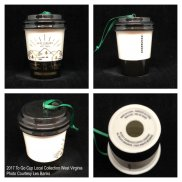 2017 To Go Cup Local Collection West Virginia Starbucks Ornament
