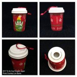 2017 To Go Cup Penguin Japan Starbucks Ornament