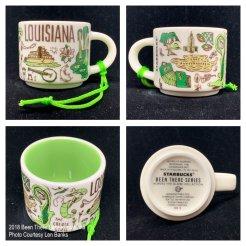 2018 Been There Series Louisiana Starbucks Ornament