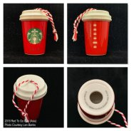 2018 Red To Go Cup Asia Starbucks Ornament