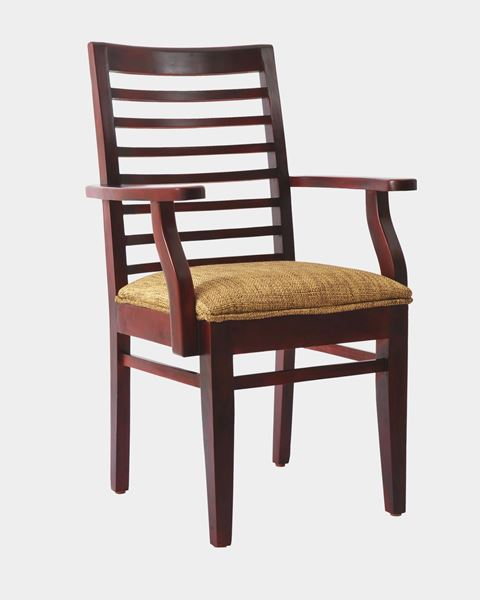 chair with arms salon chairs for sale wooden cushion online furniture shopping site in india picture of