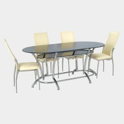 Two Seater Dining Table And Chairs India Chair Covers For Lazy Boy Glass 4 Rexine Star