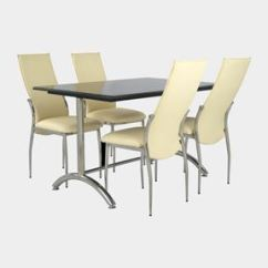 Steel Chair Dining Table Eames Lounge Cushions Replacement Restaurant Furniture India Tables And Chairs Online Granite Stainless