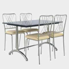 Steel Chair Buyers In India Hanging Hammock Restaurant Dining Ss Rexine And Granite Table Set