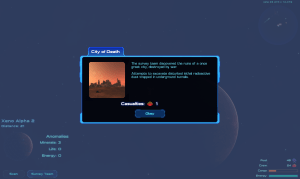 Results of a planet survey expedition.