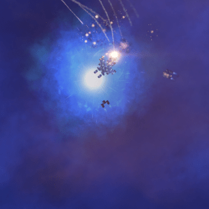 An unexpected Warp Nexus pulls the player in...