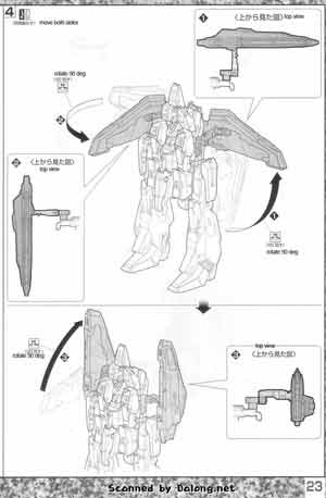 MG Zeta Gundam ver 2.0 English Manual & Color Guide