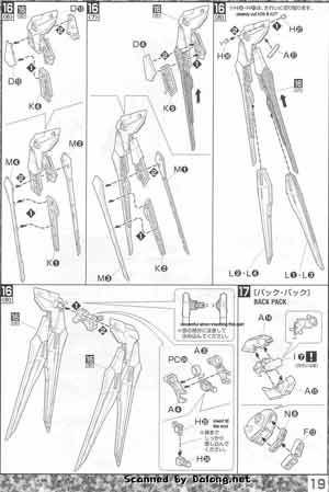 MG Strike Freedom Gundam English Manual & Color Guide
