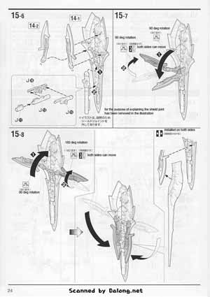 MG Sinanju Ver Ka Titanium Finish English Manual & Color
