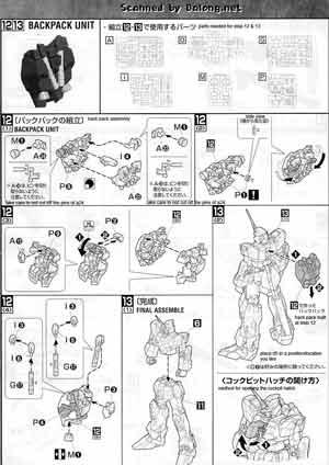 mech9: MG RX-0 Unicorn Gundam OVA ver Construction Manual