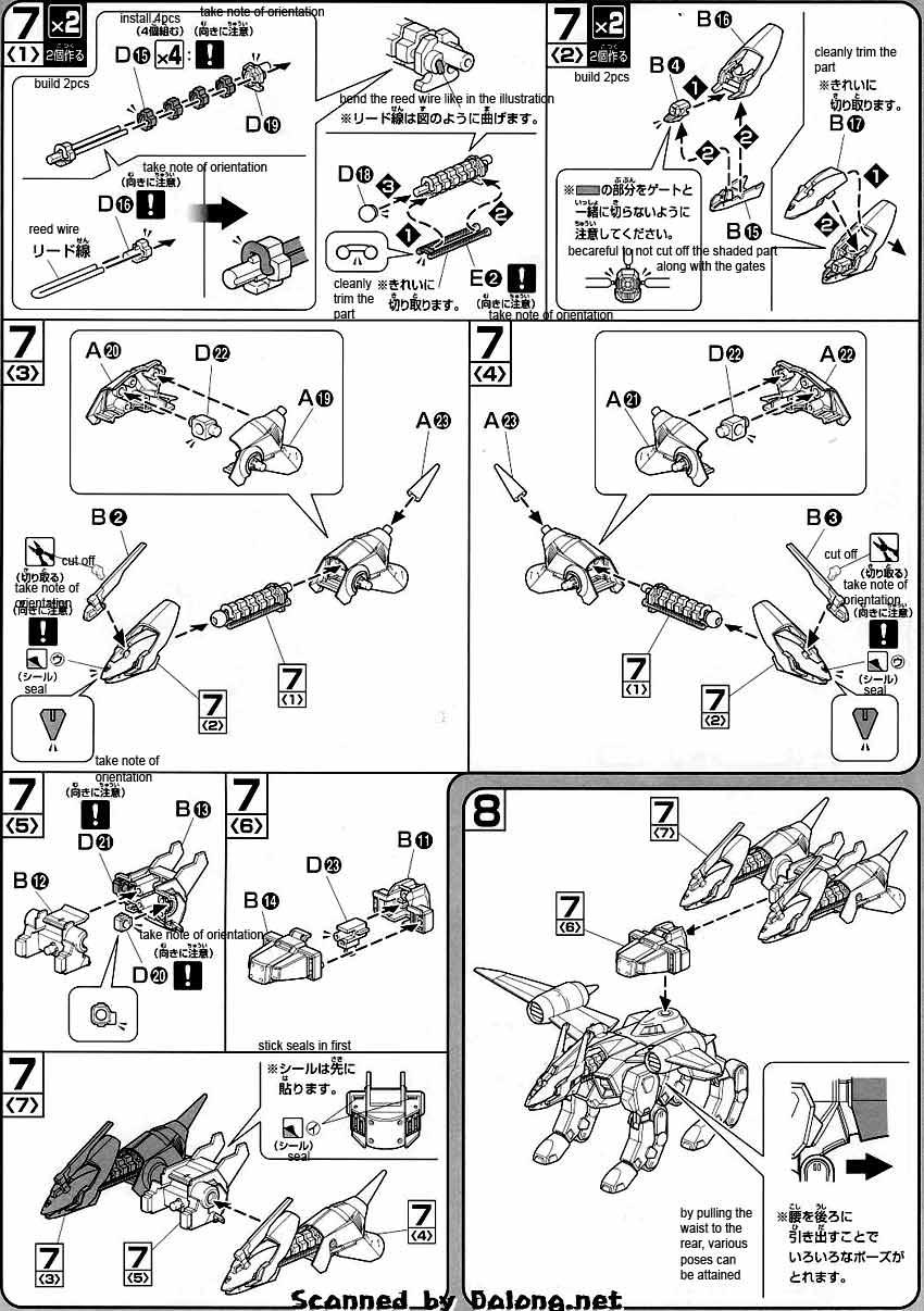 HG Alec's Kerberos BuCUE Hound English Manual & Color