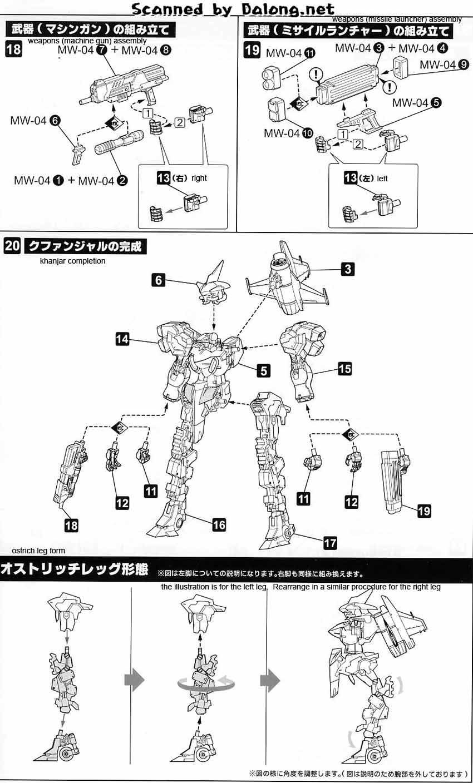 Frame Arms SA-16d Khanjar (Renewal Ver) English Manual
