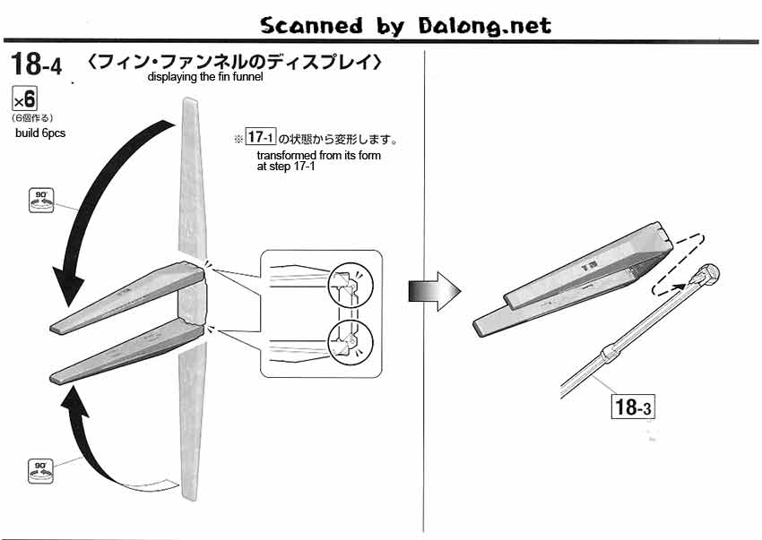MG Hi Nu Gundam Ver Ka English Manual & Color Guide