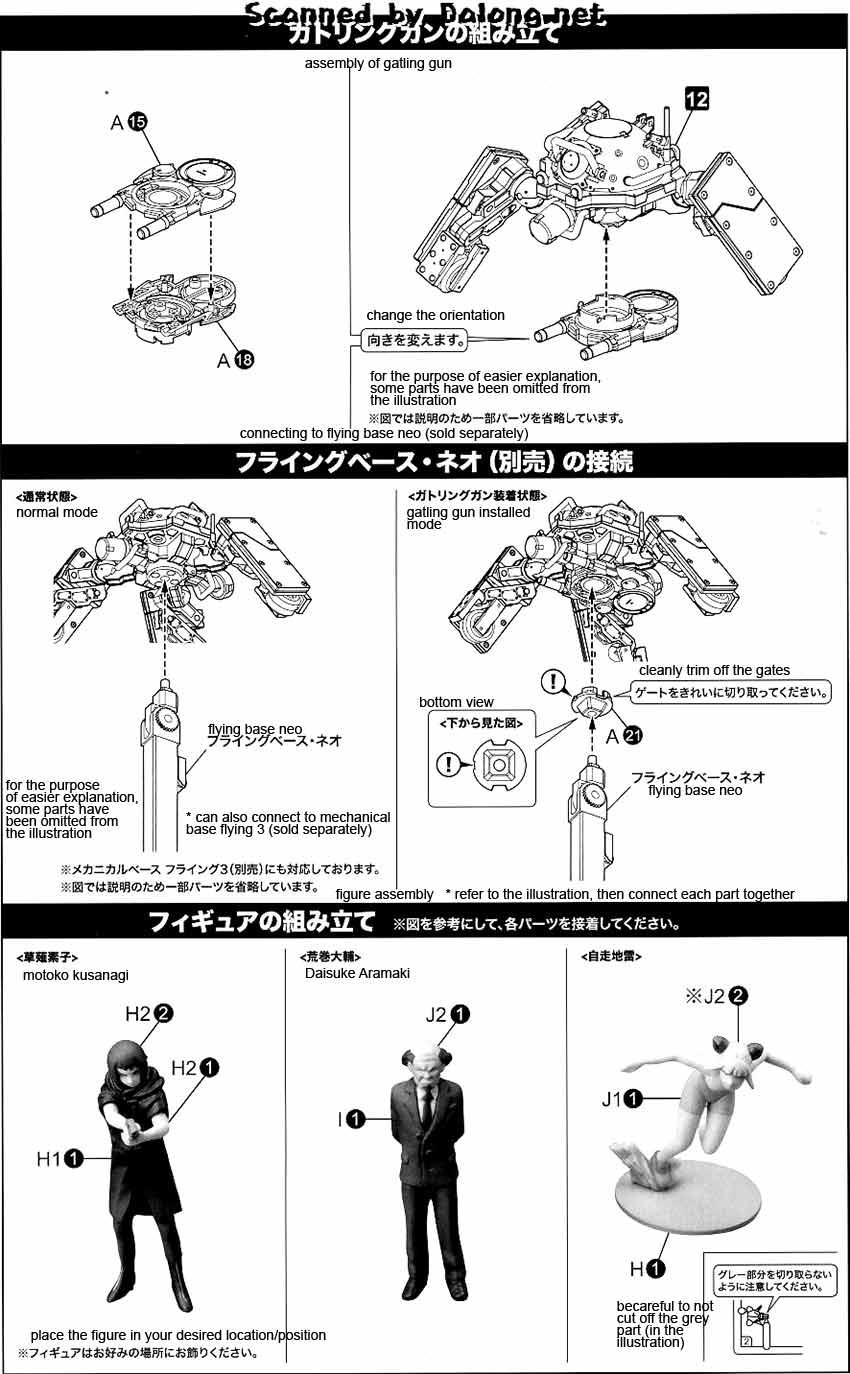 1/35 Logicoma w/ Kusanagi Motoko and Aramaki Daisuke
