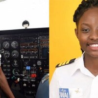21-Year Old Becomes Ghana's Youngest Female Commercial Pilot