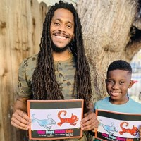 Father Writes Book With His 7-Year Old Son as the Illustrator