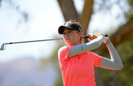 Nelly Korda armature events
