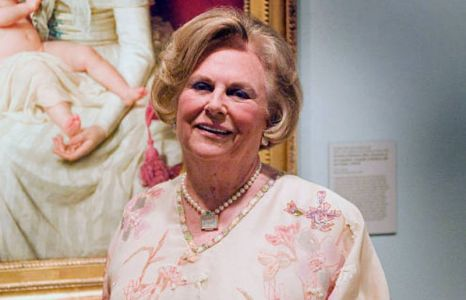 Jacqueline Mars at the national museum
