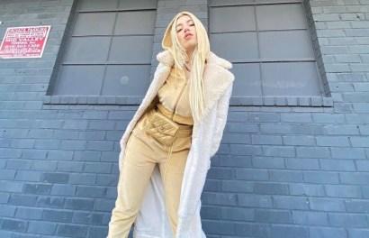 Ava Max at the los Angeles