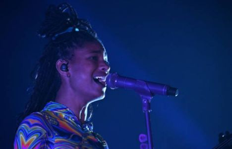 Willow in the new York concert