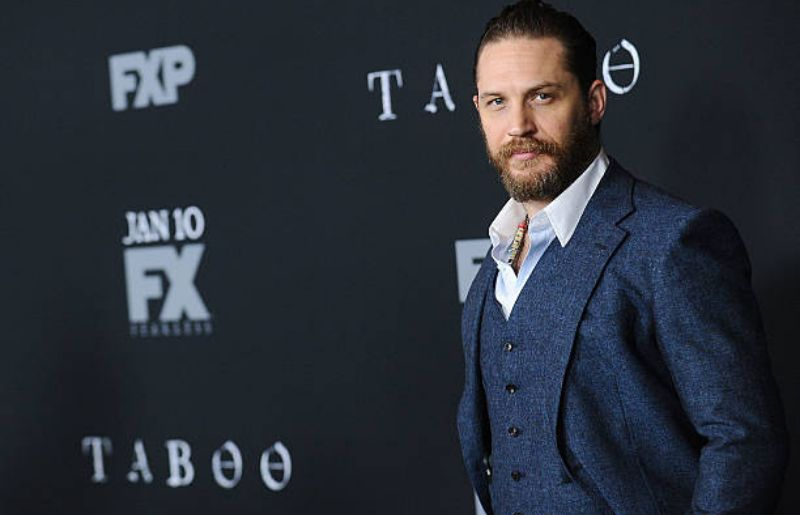 """Tom Hardy at Premiere Of FX's """"Taboo"""" - Arrivals"""