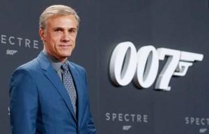 Christoph Waltz at 'Spectre' German Premiere In Berlin